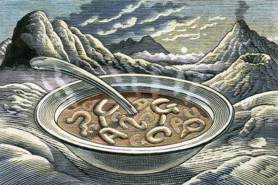 """Co pływało w """"pierwotnej zupie""""? Możliwe, że hybryda RNA i DNA"""